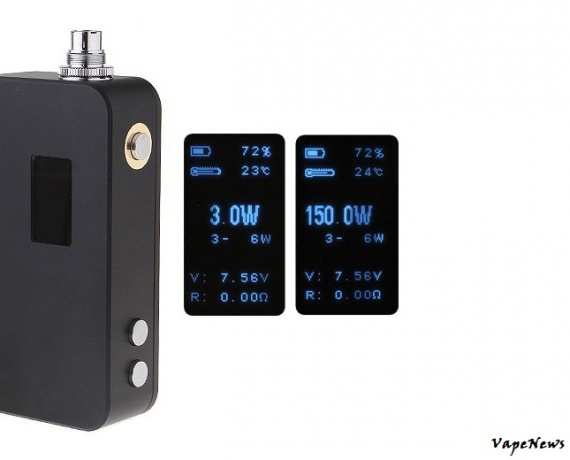 Majesty 150W Box Mod - шайтан-коробка.
