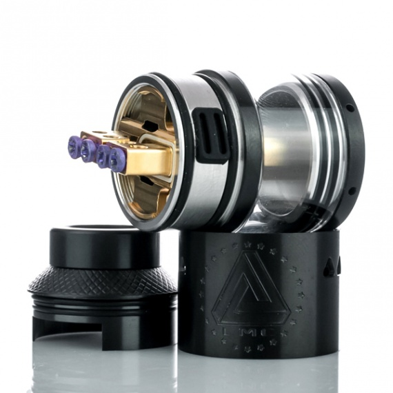 Gold Interchangeable RDTA by Limitless Mod Co