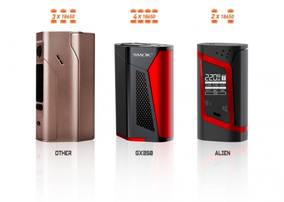 GX350 by SMOKTECH - power does not happen much