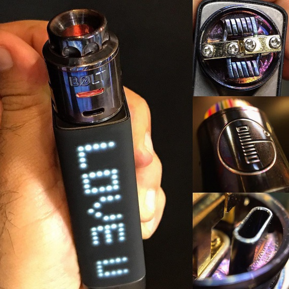 Bolt RDA by Godria Innovations