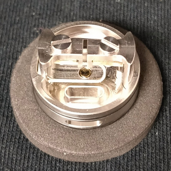 Rapture RDA by Armageddon MFG - зажимы и два обдува