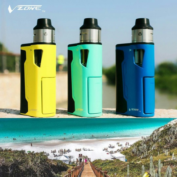 Spirit Kit by Vzone - an affordable mechanical RDTA box.  And what?  Interesting!