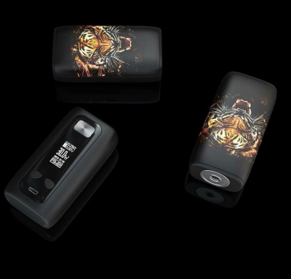 Thor by Think Vape - the Chinese continue to go crazy.  How do you like the mod with the tattoos? :)