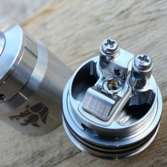Ammit MTL RDA by GeekVape - style and cigarette traction.  Potential hit and sales leader :)