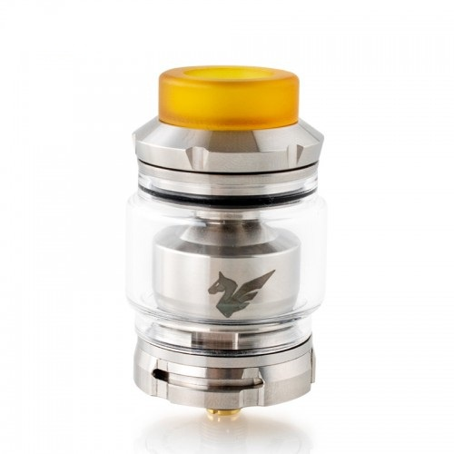 Bellerophon RTA is a single-helix giant with a convenient base.  Did not expect from Wismec?