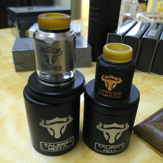 Tauren BF RDTA by ThunderHead Creations is now a goby with a tank.  It turned out even more attractive