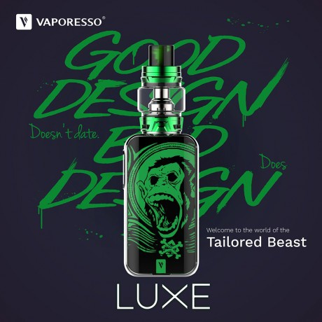 Luxe by Vaporesso - a stylish flagship without unnecessary details