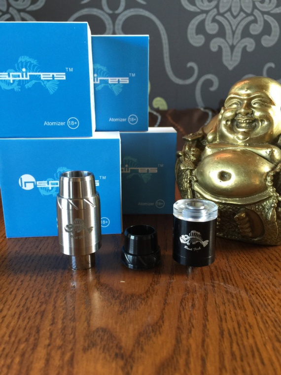 Rock Fish RDA Atomizer - атомайзер под названием морской рыбы