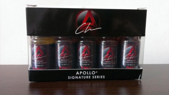 Apollo Signature e-liquid.  1,2,3,4,5, what is hidden behind these numbers?