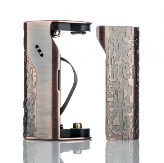 Reuleaux DNA250 - it seems that designers Wismec seriously thought about customization