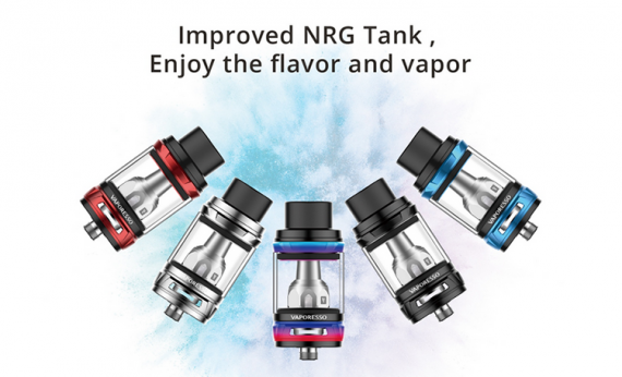 Revenger X TC Mod and NRG Tank (5ML) - a brand new starter from Vaporesso, already in the pre-sale