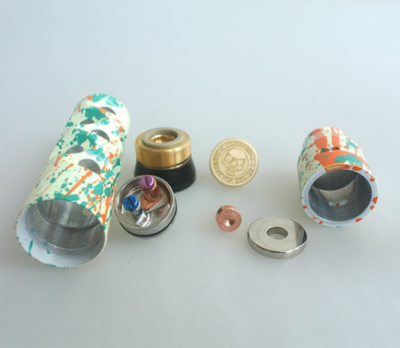 Luminous Mechanical Mod вместе AV Complyfe Battle Deck RDA - неплохая сборка