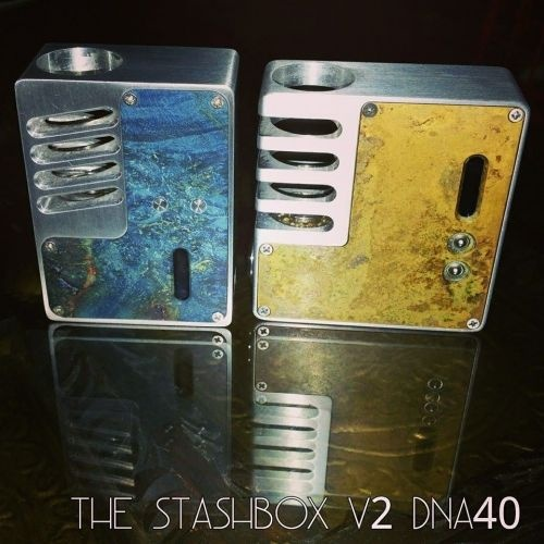 The Stash Box V1&V2 - Hi-End моды от Donny Sirivisut на платах DNA