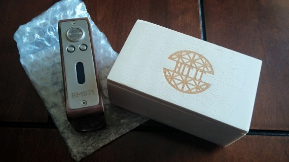 Anatolian Mods SP DNA40D Boxmod - ещё немного high-end'а на DNA40