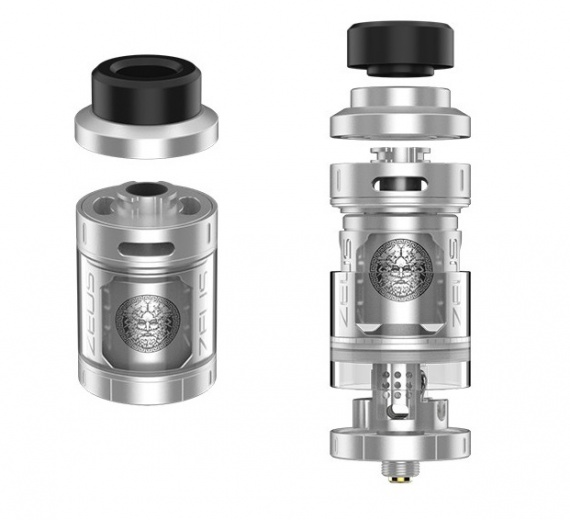 Geekvape Zeus RTA - is made on the top five ... but what will be the taste ...