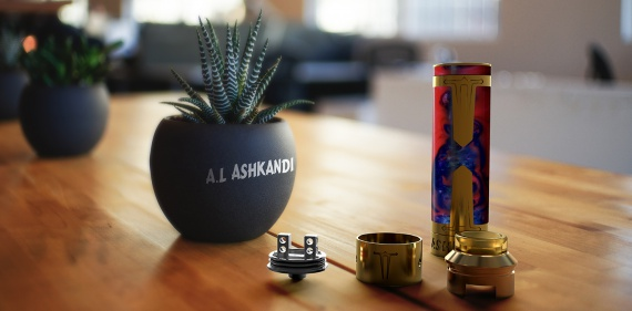 Laisimo A.L ASHKANDI Mechanical Mod - оружие вейпера