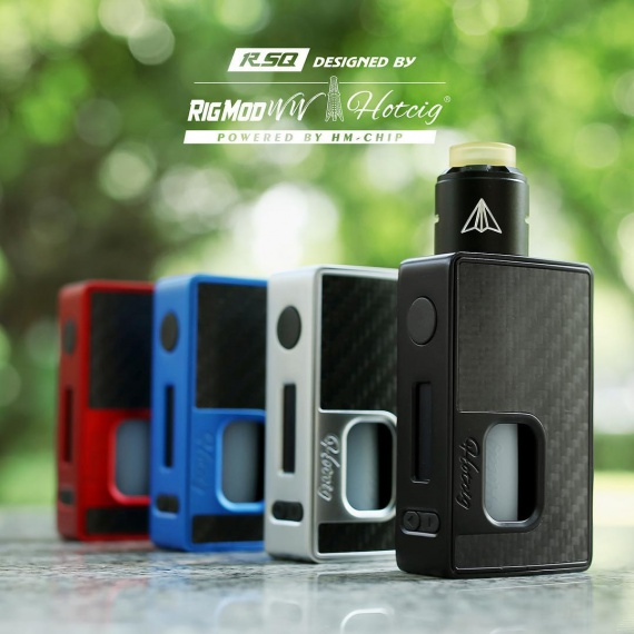 Hotcig RSQ squonk mod - great, but give the price!