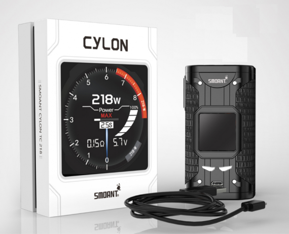 Smoant Cylon 218W - it's time for a new flagship ...