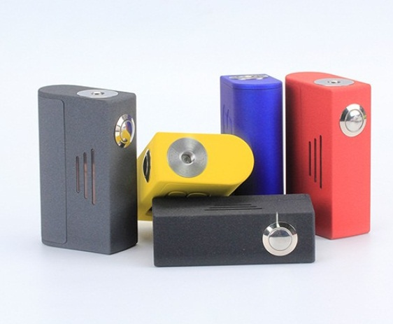 Bravo Boxer BF Squonk Mechanical Box Mod - прост до безобразия...