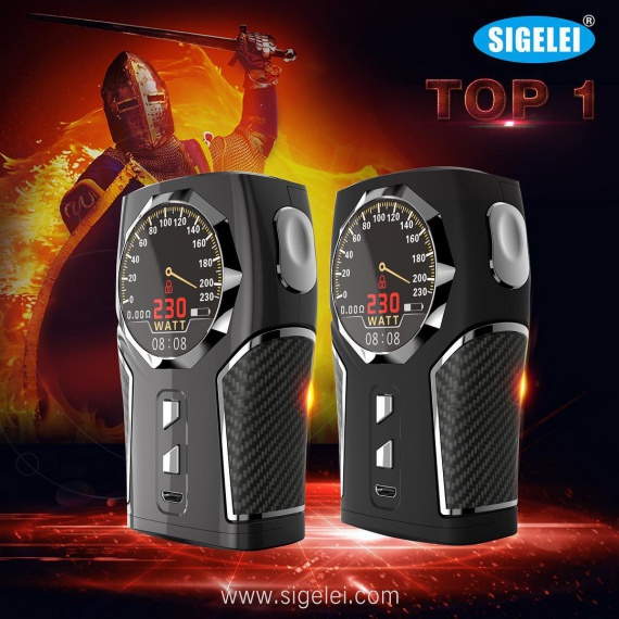 Sigelei TOP1 Box Mod - how do you call a yacht, so it will sail ???  - not in this case...