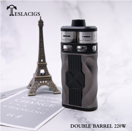 Teslacigs CP Couples Kit / Teslacigs Double Barrel 220w Kit - дуплетом по горлу...