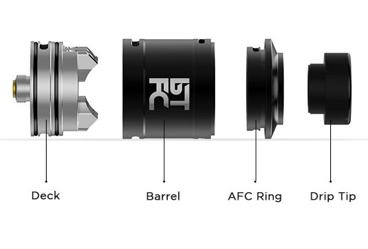 Augvape BTFC RDA - two blows for a decent heap ...