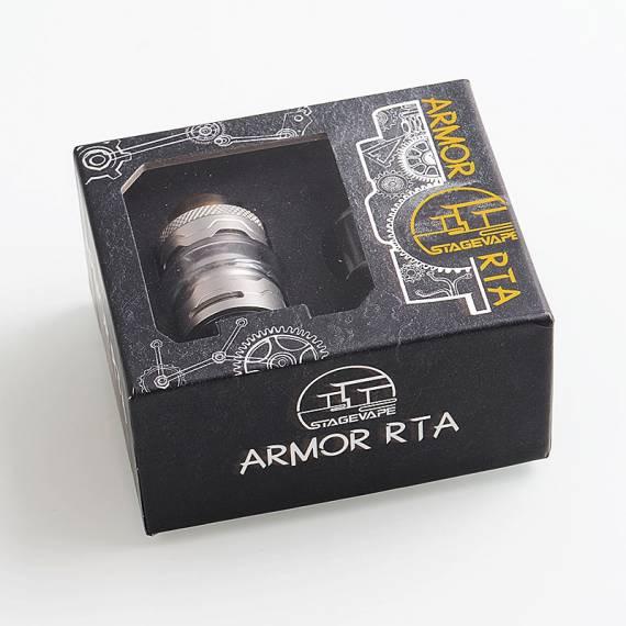 Armor RTA by StageVape - знакомая база от незнакомого производителя