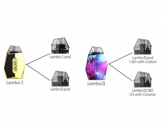 Lambo Ⅱ by OneVape - новая ламбо с парой фишек