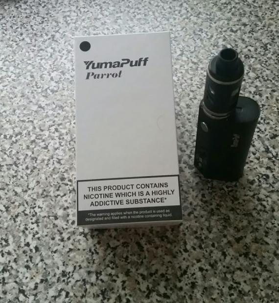 Parrot 80W - обычный стартовик для новичков от компании YumaPuff