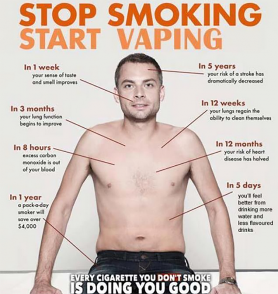 Поговорим немного о том, как электронные сигареты спасают жизнь