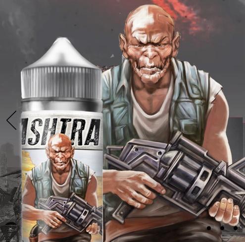 Ashtray - это не жидкости, а целый постапокалиптический мир 2048 года!