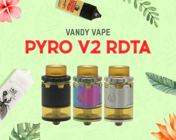 Обновлен, улучшен, сногсшибателен: Vandy Vape Pyro V2 RDTA в Папироска РФ !