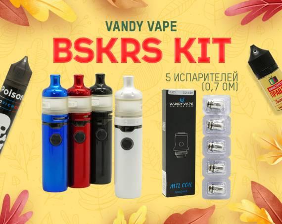 Просто и вкусно: Vandy Vape BSKRS Kit в Папироска РФ !
