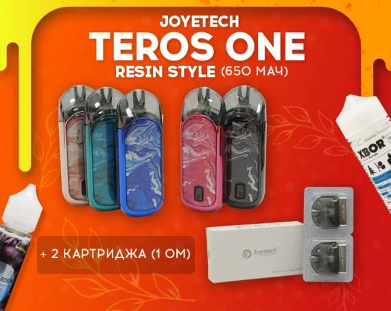 Добавь немного ярких красок: Joyetech Teros One Resin Style в Папироска РФ !