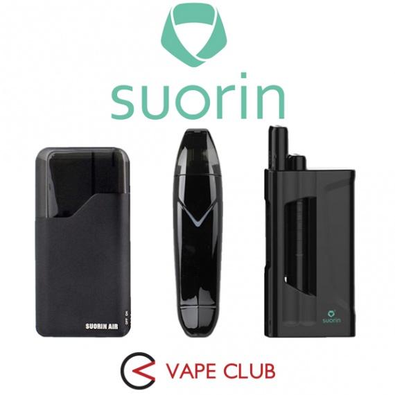 VapeClub.Ru - SUORIN – одни из лучших систем доставки никотина All-In-One
