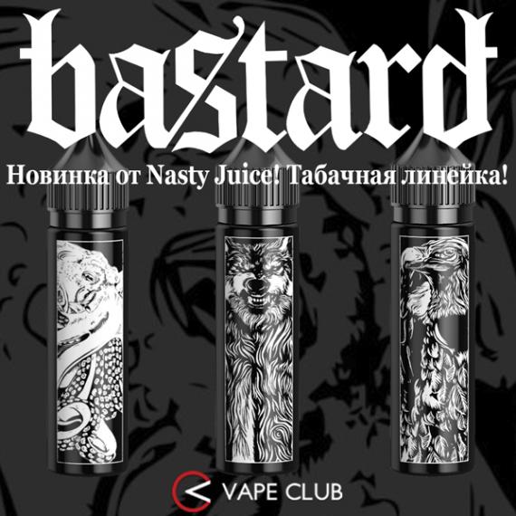 VapeClub.Ru - BASTARD от NASTY JUICE – табак с ароматом роскоши