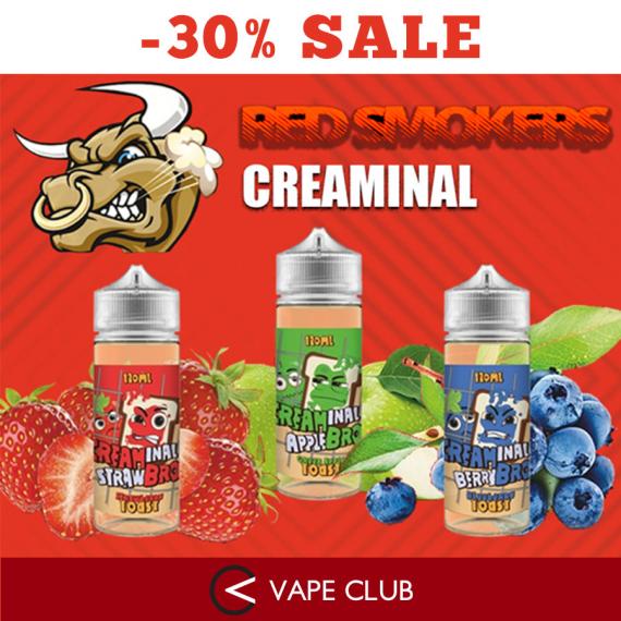 VapeClub.Ru - Creaminal Bro со скидкой 30%