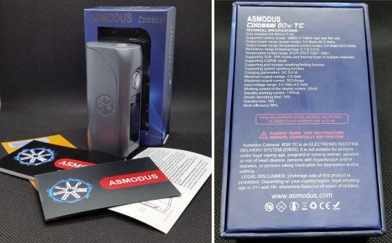 Пощупаем??? - asMODus Colossal 80W Box Mod...