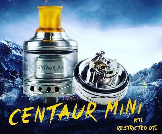 Hotcig Centaur Mini RTA - перековали на MTL?..