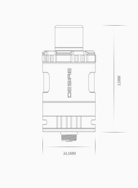 Desire Design Squonky Tank - два способа заправки. не ожидали?...