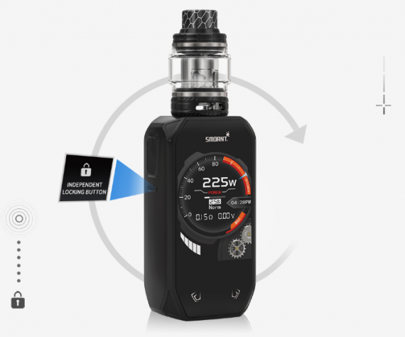 Smoant Naboo 225w kit is not a screen, it is a screen ...