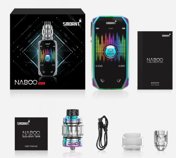 Smoant Naboo 225w kit - это не экран, это экранище...