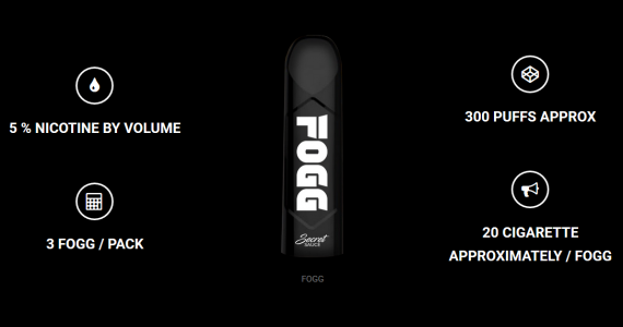 Fogg Pod Device - без хлопот и забот...