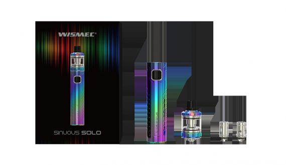 Wismec Sinuous Solo kit - а что, вполне симпатично...