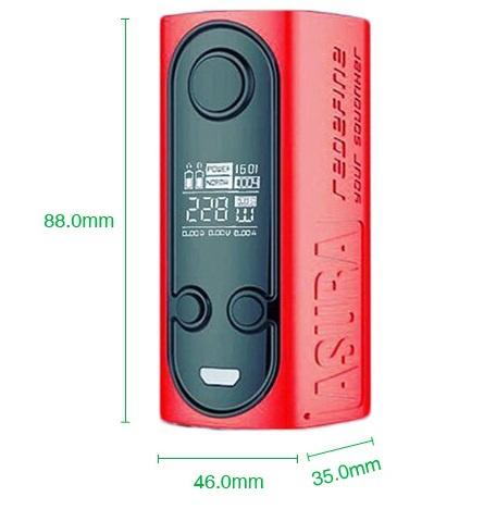 Hugo Vapor Asura 2-in-1 Squonk Box Mod - хочешь сквонк, а хочешь просто мощный бокс мод...