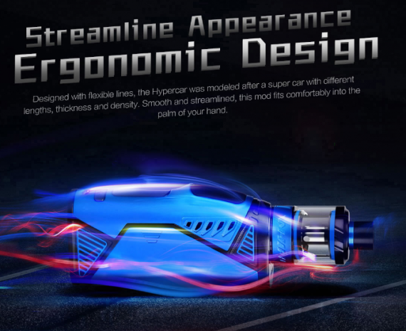 Uwell Hypercar Kit - streamlined, it means ergonomic ...