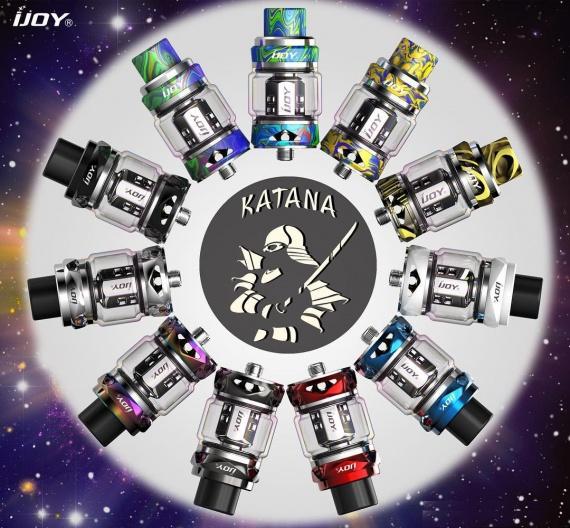 IJOY Katana Starter Kit - built-in battery - advantage or disadvantage?