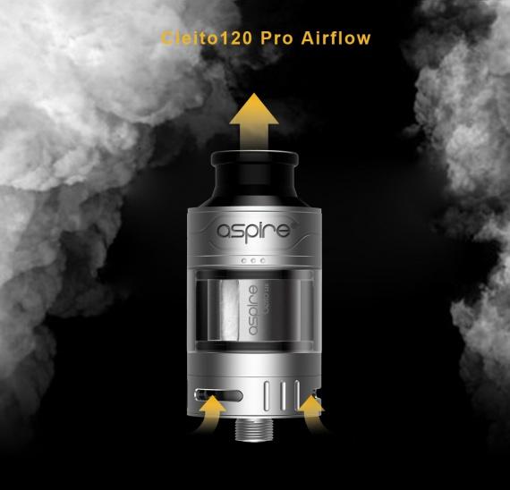 Aspire Cleito 120 Pro Sub Ohm - очередная версия известной необслуги...