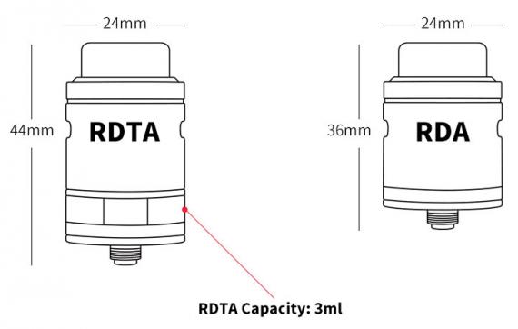 Wotofo Faris RDTA - два устройства в одном...