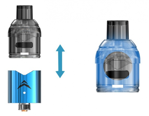 Ijoy Stick VPC Pod Kit - old top, new low ...